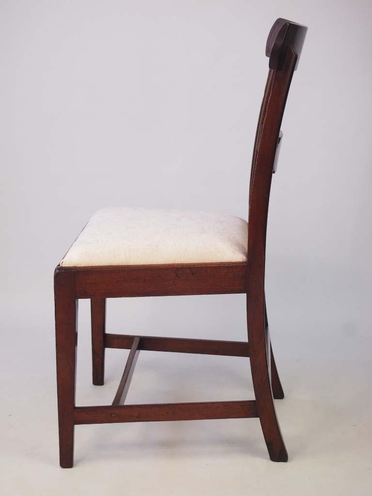 Antique Georgian Mahogany Desk Chair Side Chair