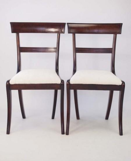 Pair Regency Side Chairs
