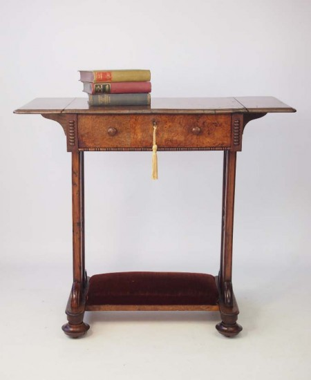 Antique Victorian Work Table