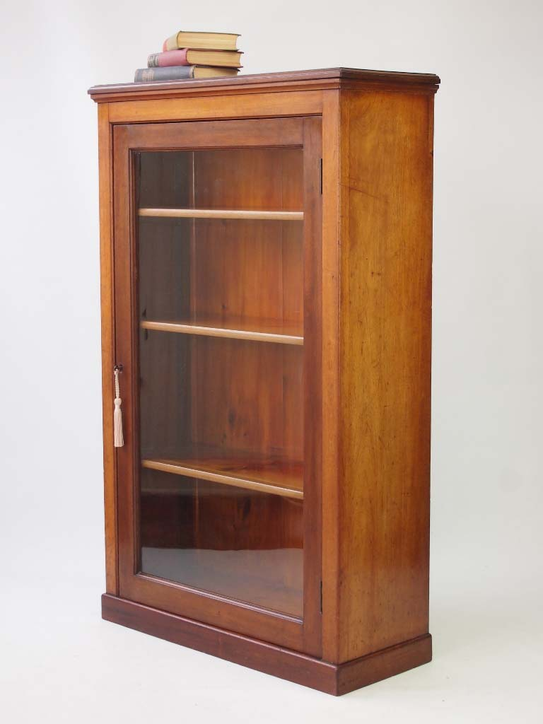 Adjustable Beds Reviews >> Antique Edwardian Mahogany Bookcase with Adjustable Shelves