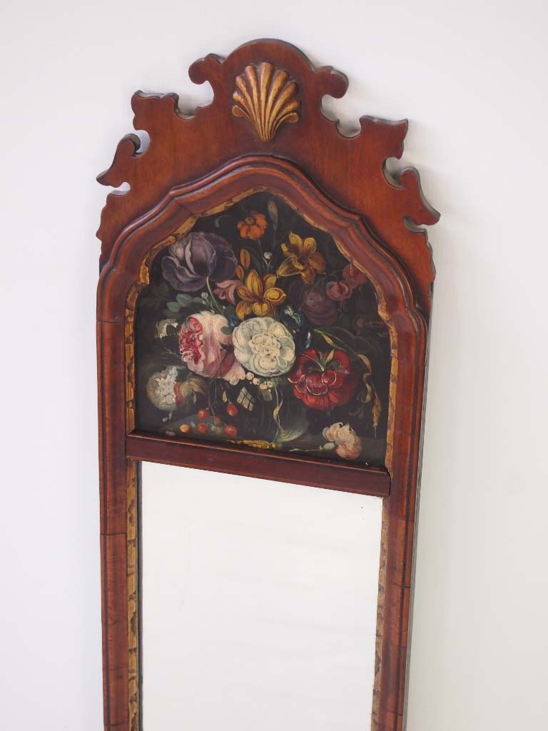 Painted Antique Mirror