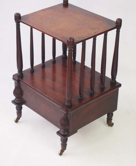 Antique Two Tier Side Table
