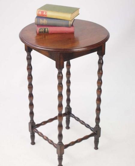 Edwardian Oak Side Table