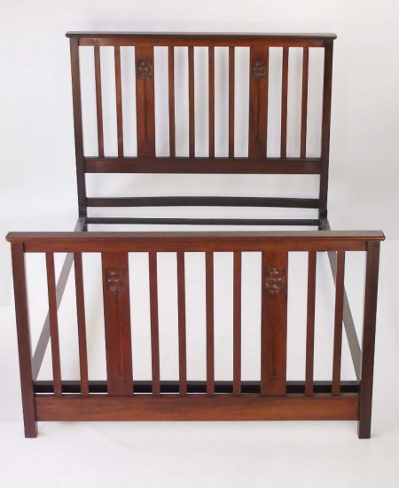Antique Edwardian Double Bed
