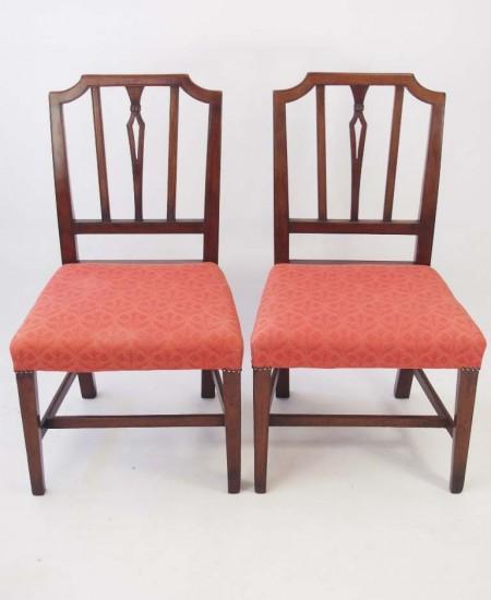 Pair Georgian Side Chairs