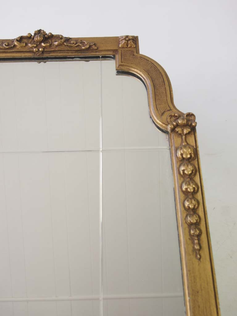 Vintage Gilt Wall Mirror