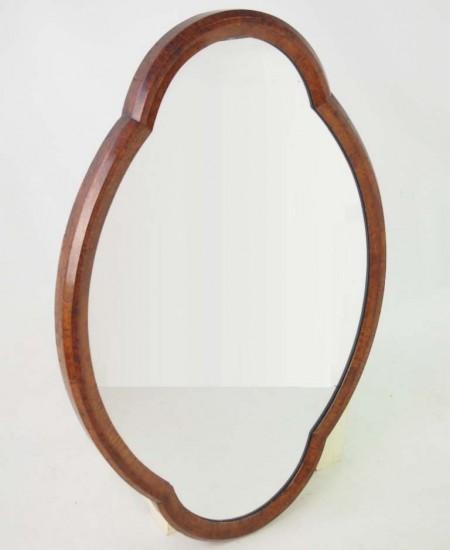 Victorian Walnut Mirror