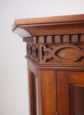 Edwardian Hanging Cabinet