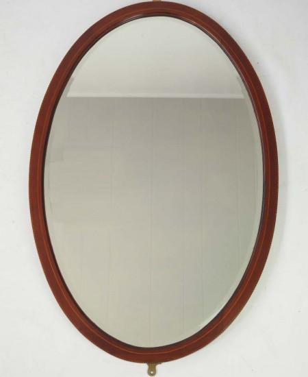 Large Antique Edwardian Mirror