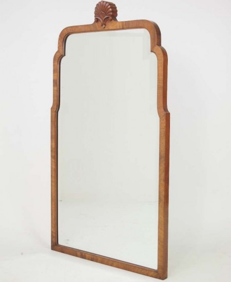 Vintage Walnut Mirror