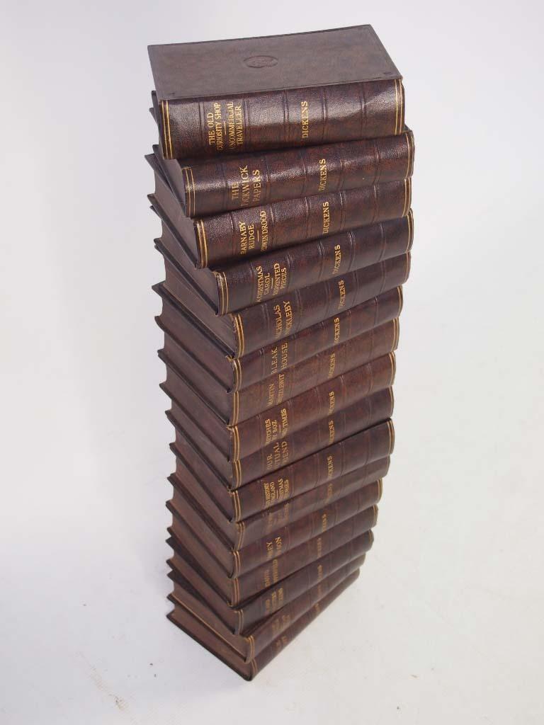 Set Of 16 Charles Dickens Novels Circa 1930s