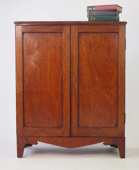 Small Antique Mahogany Cupboard