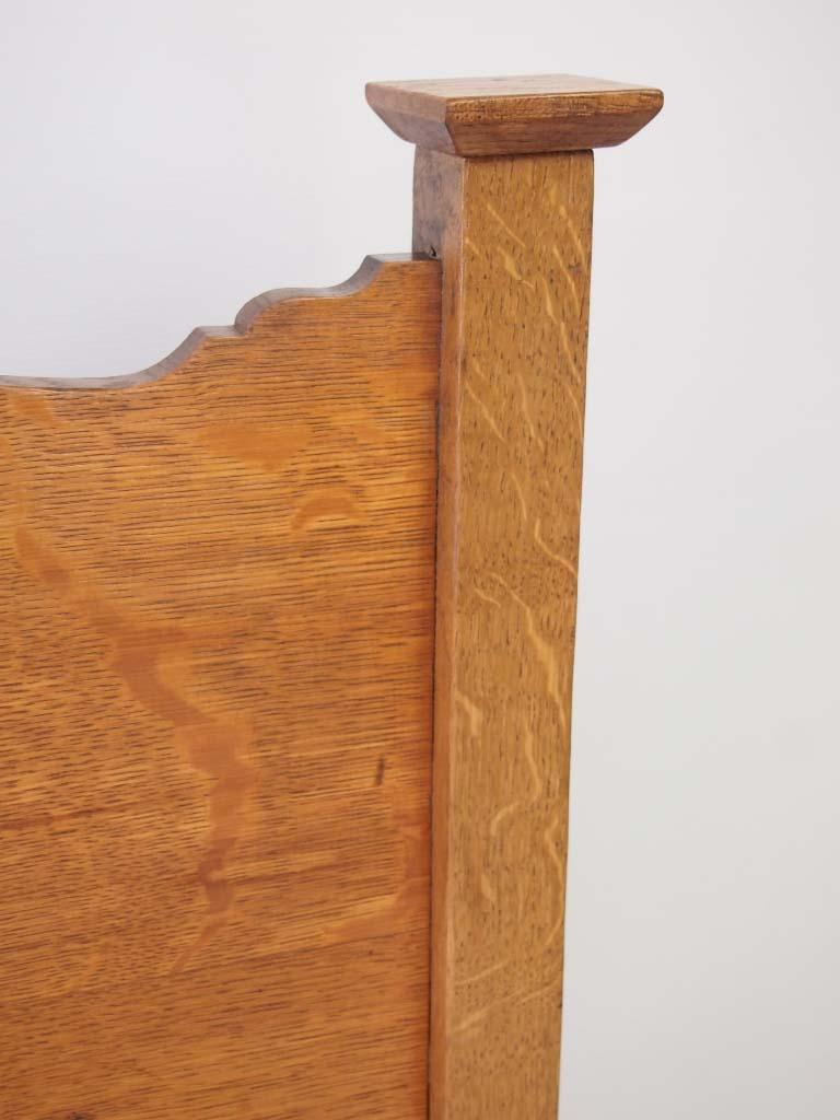 Antique Heals Arts Amp Crafts Oak Single Bed