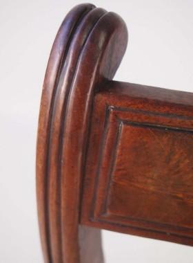 Set 4 Antique Regency Mahogany Dining Chairs