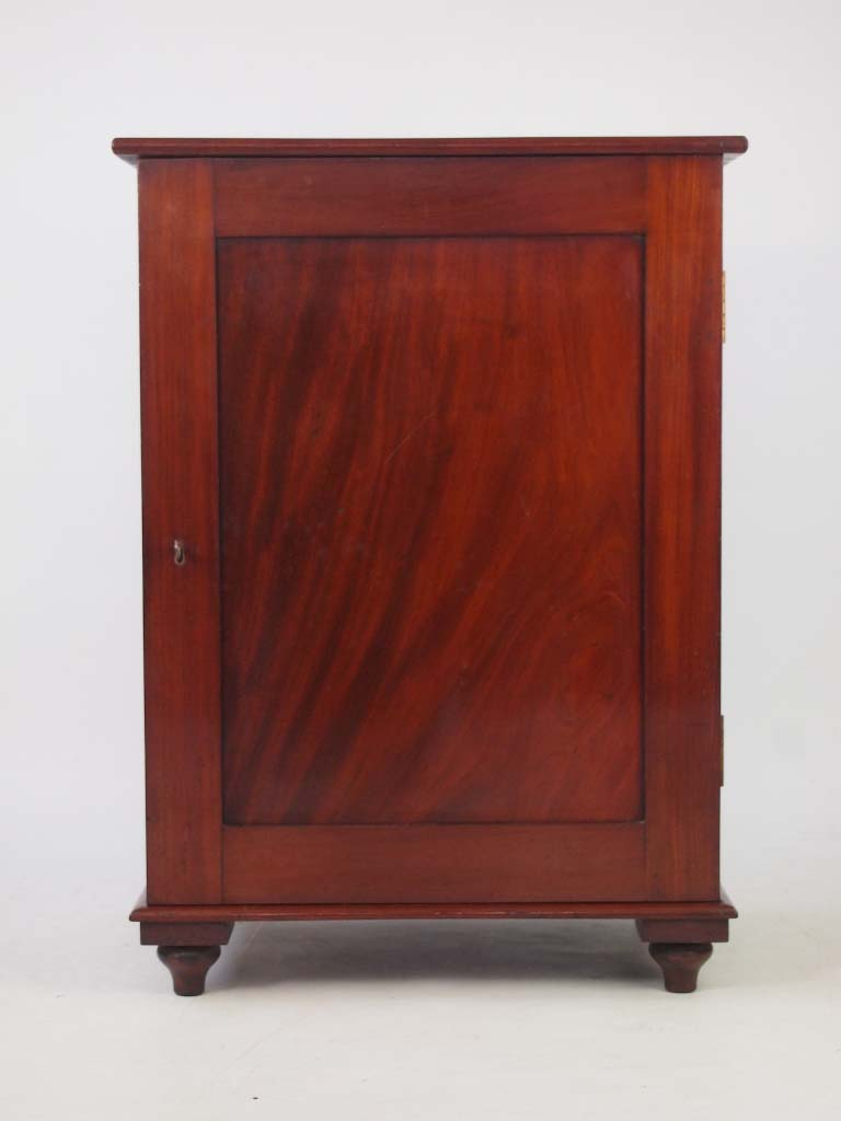 Antique Victorian Mahogany Fitted Cabinet