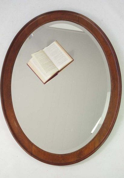 Large Antique Edwardian Mirror