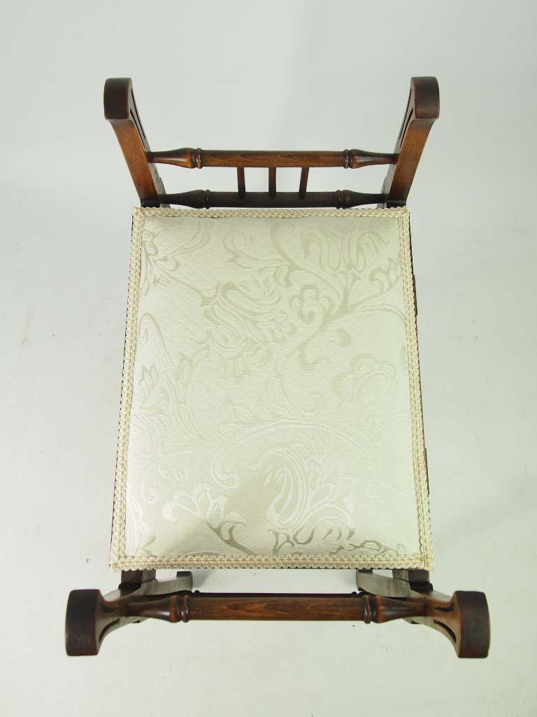 Antique Edwardian Arts Amp Crafts Paino Stool