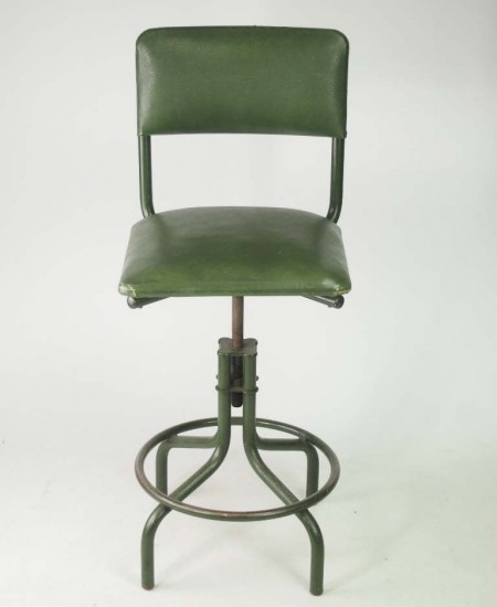 Vintage Industrial Swivel Chair