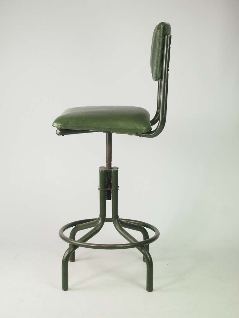 Adjustable Beds Reviews >> Vintage Industrial Swivel Chair