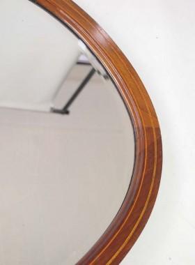 Edwardian Mahogany Mirror