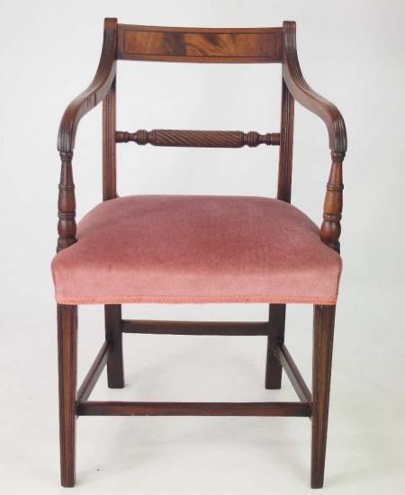 Antique Regcency Desk Chair