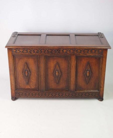 Edwardian Oak Coffer