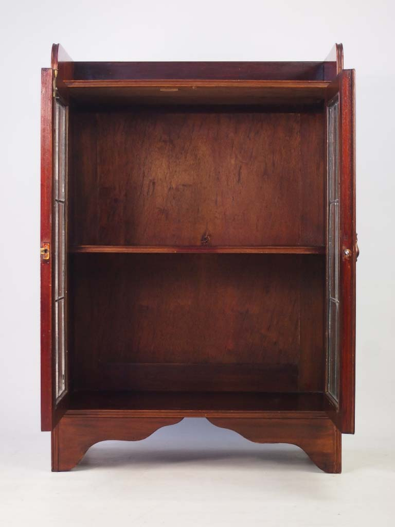 Small Antique Edwardian Mahogany Bookcase
