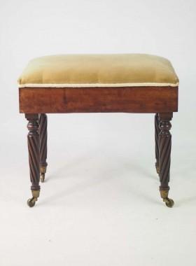 Regency Piano Stool
