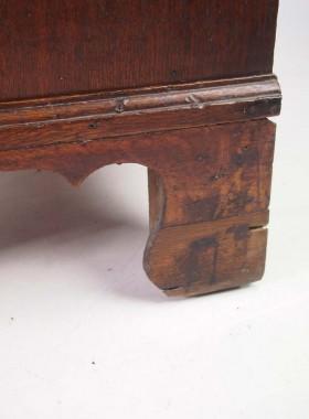 Small Georgian Oak Bureau