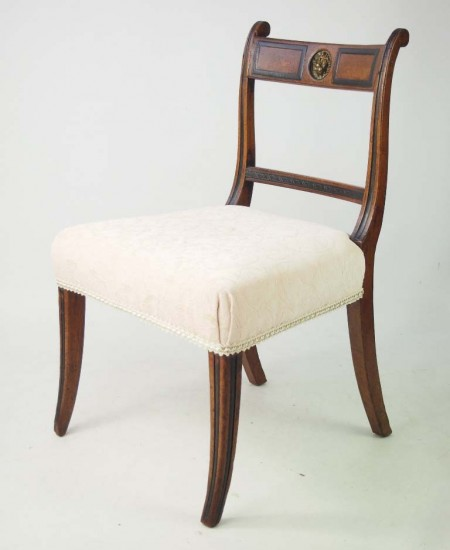 Regency Mahogany Chair