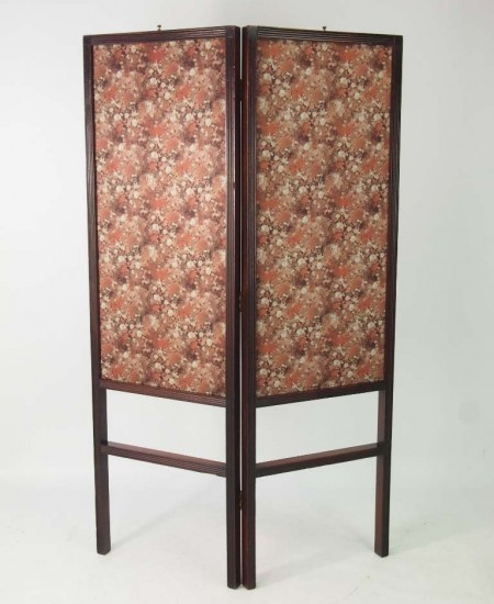 Regency Mahogany Fire Screen