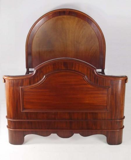 Victorian Mahogany Double Bed