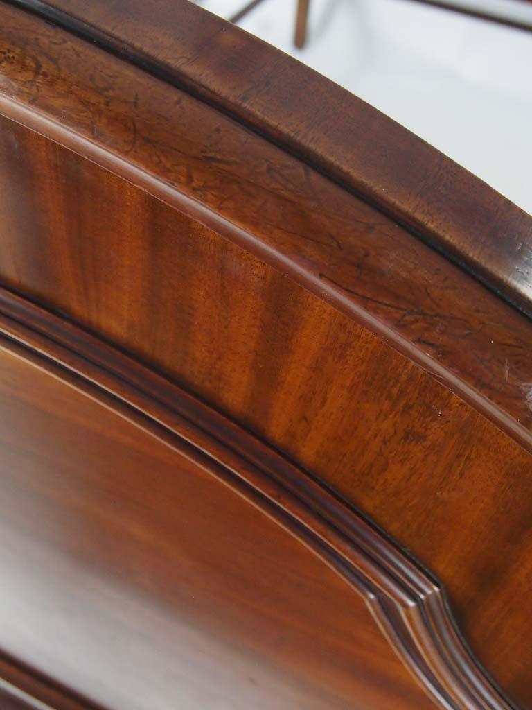 Antique Victorian Mahogany Double Bed