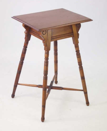 Arts and Crafts Mahogany Side Table