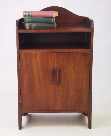 Small Vintage Mahogany Cupboard