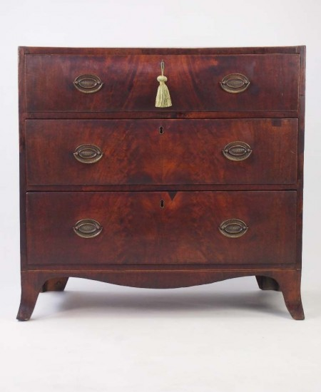 Georgian Mahogany Chest Drawers