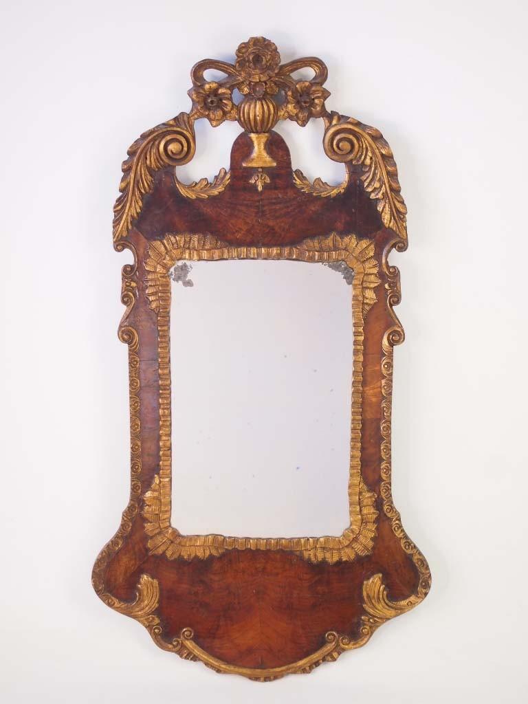 Victorian Mirror in George II Style