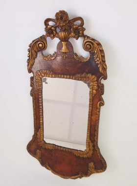 Victorian Mirror in George II Style