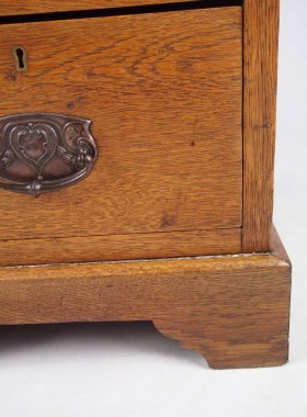 Arts Crafts Oak Desk