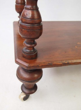 Victorian Walnut Whatnot