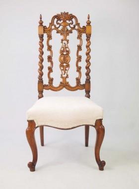 Victorian Walnut Chair