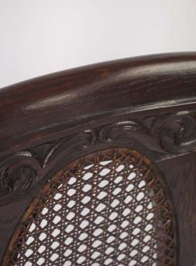 Antique Oak Single Bed