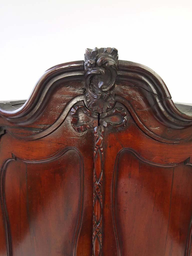 Mid 18th Century Dutch Bow Front Corner Cupboard