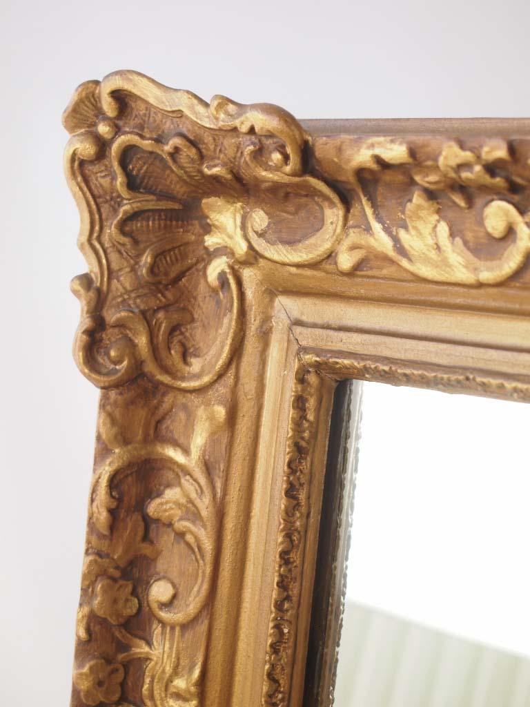 Large Vintage Gilt Framed Mirror