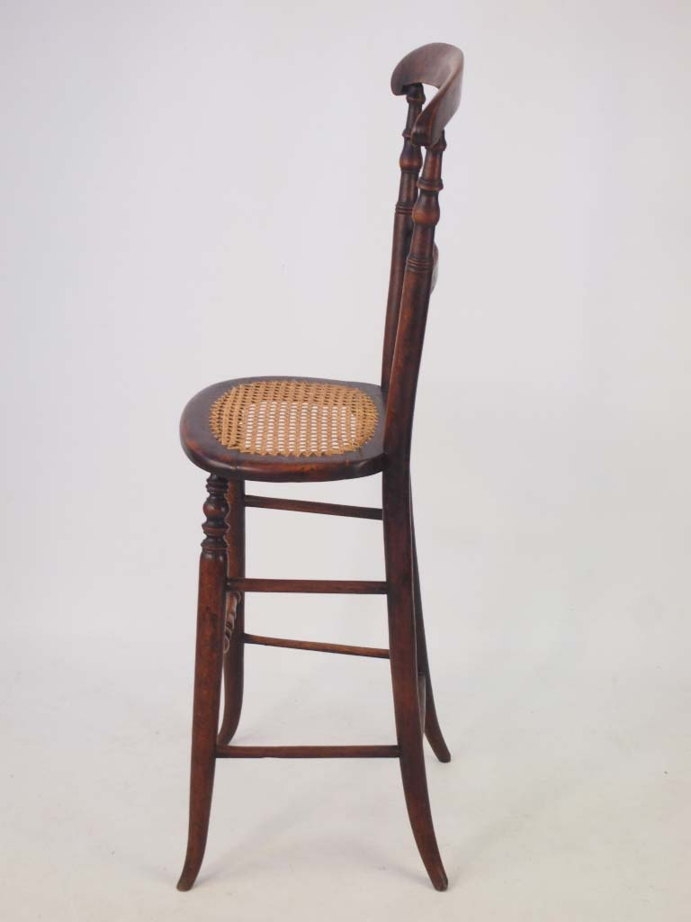 Victorian childs correction chair in simulated rosewood for Child s first chair