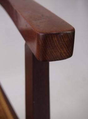 Arts Crafts Mahogany Inlaid Chair