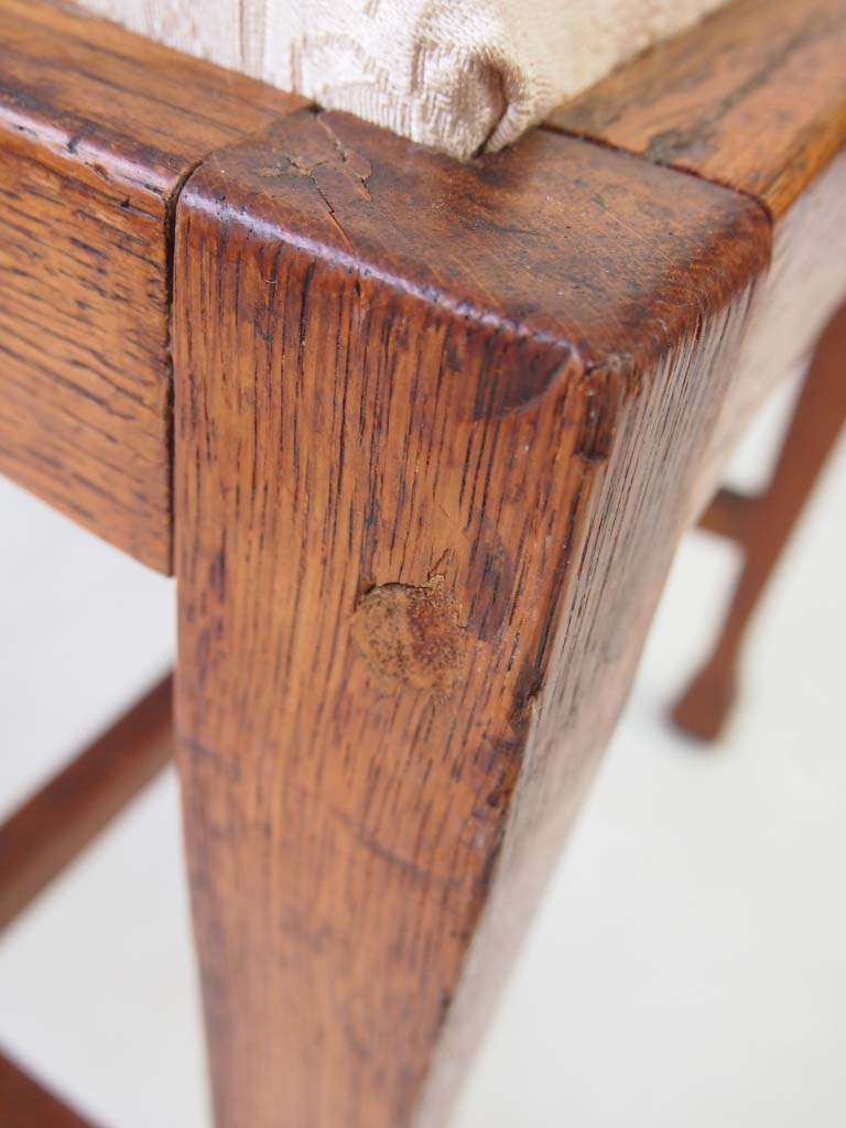 Pair Arts Amp Crafts His Amp Hers Oak Chairs