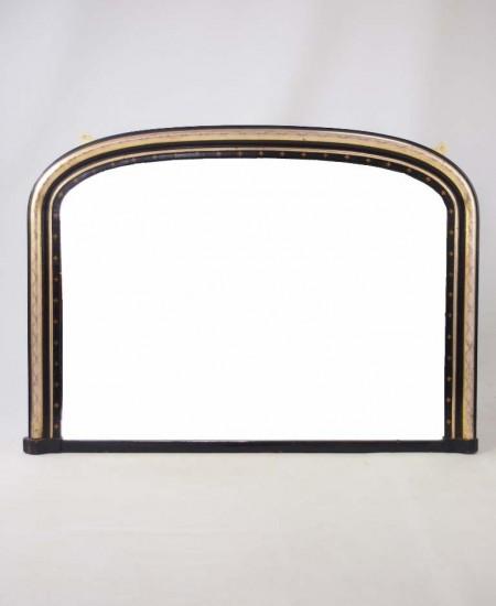 Antique Victorian Overmantle Mirror