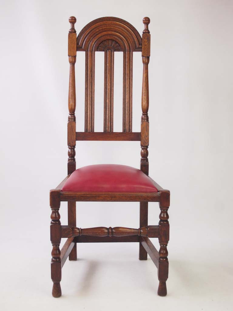 Set 6 Antique Liberty Amp Co Lochleven Oak Dining Chairs