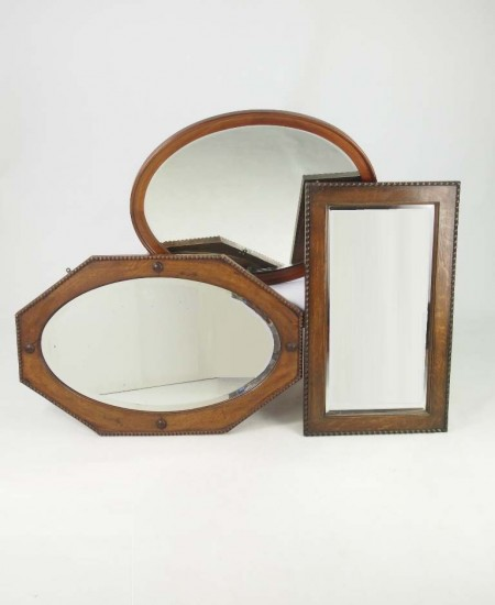 Set 3 Vintage Mirrors